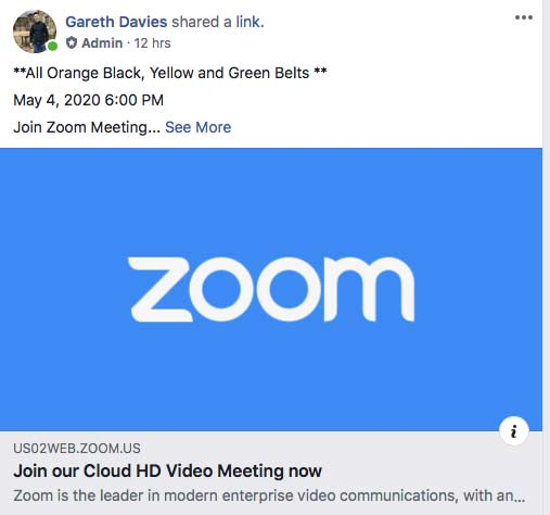 6pm Zoom Class
